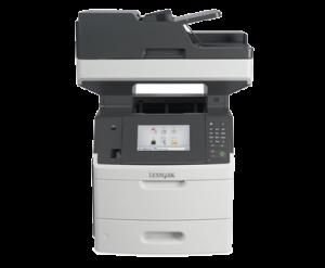 מכונת צילום שחור לבן דגם LEXMARK MX710DE