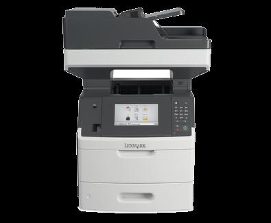 מדפסת משולבת דגם LEXMARK MX710DE